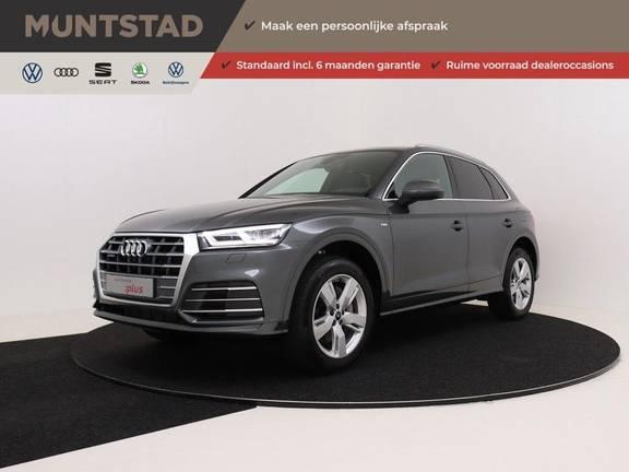 Audi Q5 50 TFSI e 299 pk quattro S edition | Elektrisch verstelbare/verwarmbare voorstoelen | Keyless Entry | Virtual Cockpit | Privacy Glass | Verlengde Fabrieksgarantie
