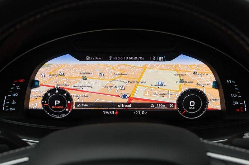 "Audi SQ7 4.0 TDI V8 Quattro 435pk 7 Pers. Panoramadak BlackOptic B&O NightVision Luchtvering ACC ValconaLeder+Memory Matrix Head-Up Navi-High Keyless Trekhaak 22"" Camera Pdc afbeelding 22"