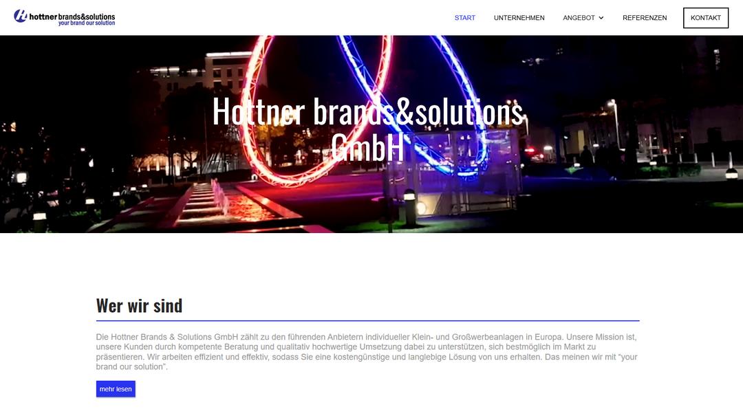 Hottner GmbH Referenz Projekt
