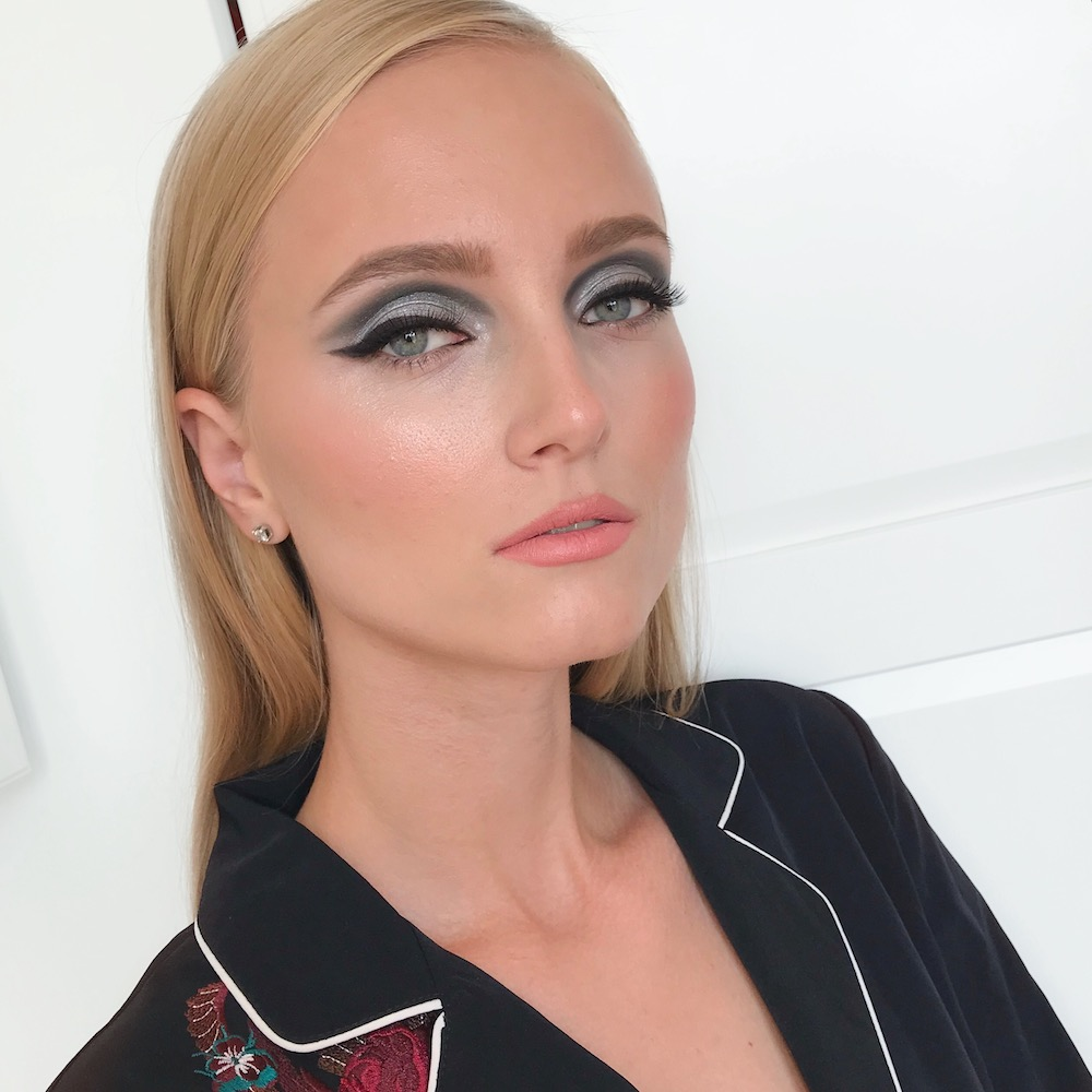 Evening makeup