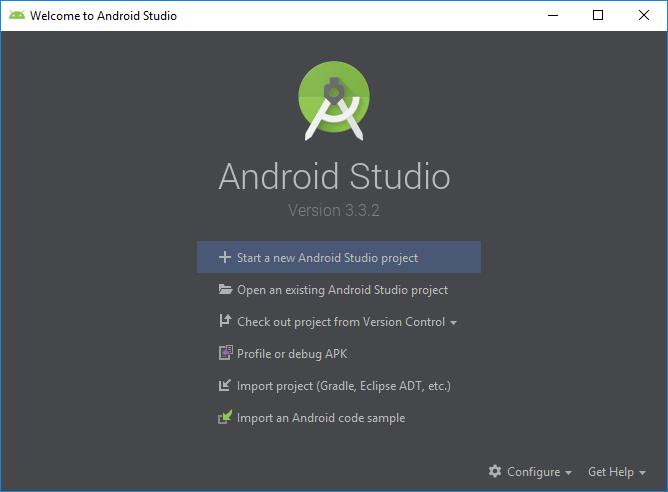 Finish installing Android Studio