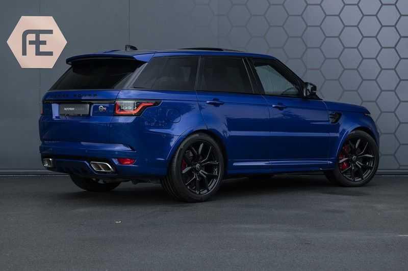 "Land Rover Range Rover Sport P575 SVR Carbon SVR motorkap + Drive Pro Pack + Panoramadak + 22"" + Stoelkoeling + Head-Up + Stuurwielverwarming + Carbon interieur afbeelding 8"