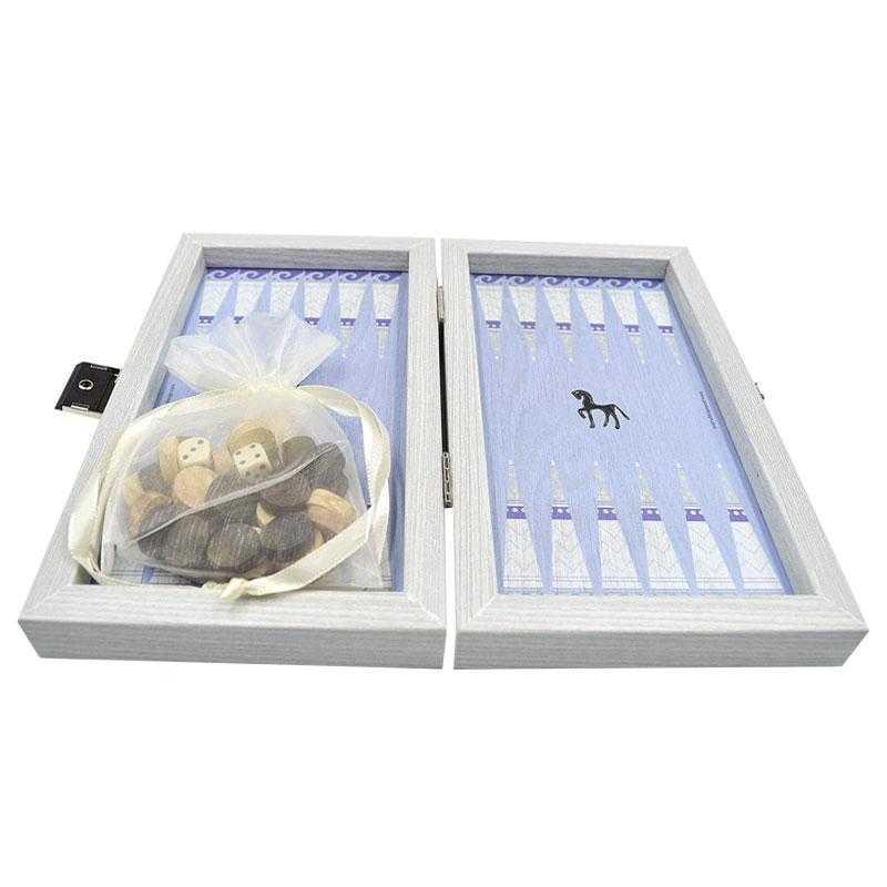 Backgammon Horses - Confezione tascabile