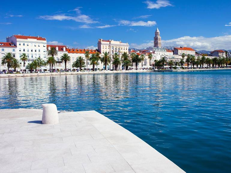 Visiting Split during your Croatia sailing holiday