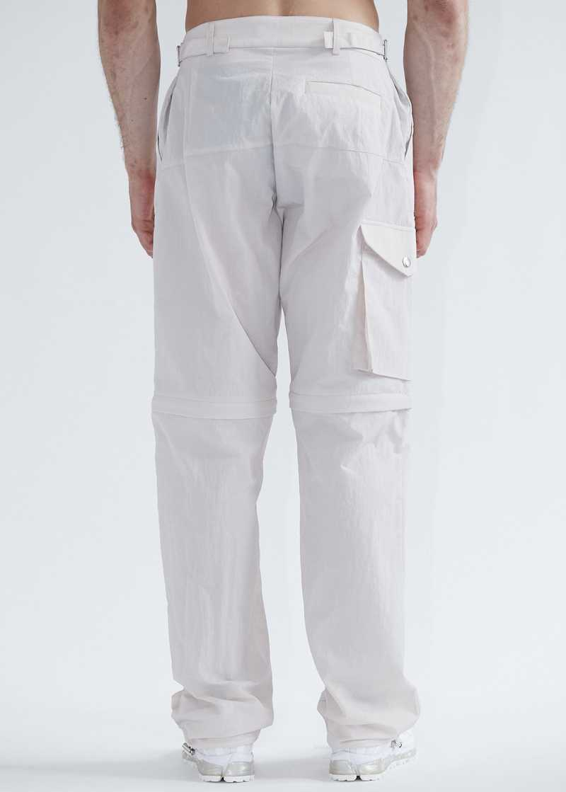 """Haseen Cargo Pants Trousers Light Rose. Light Pink. GmbH SS20 """"20 20 Vision"""" collection. Available at gmbhgmbh.eu."""