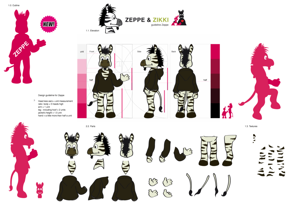 Zeppe design guideline