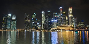 Singapore Marina Bay by Leong Him Woh