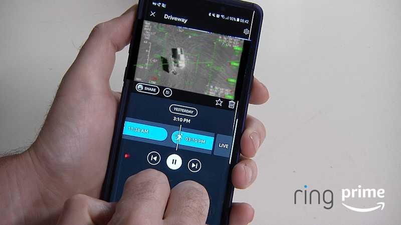 ring security prime app