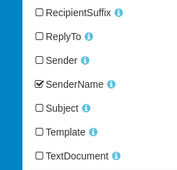 Email sender name can now be extracted as an new extra field called SenderName