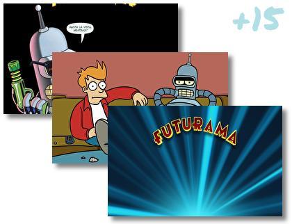 Futurama theme pack