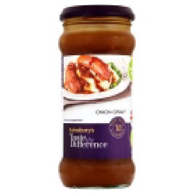 Sainsburys Taste The Difference Vegetable Gravy Granules