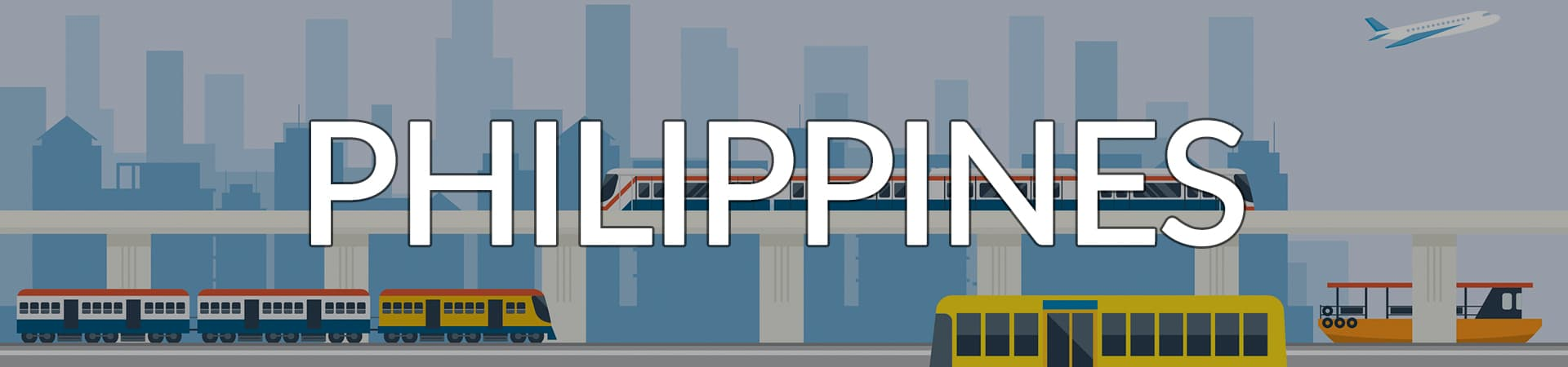 Transportation Philippines banner
