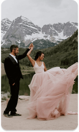 Cheap Rocky Mountain Elopement Package