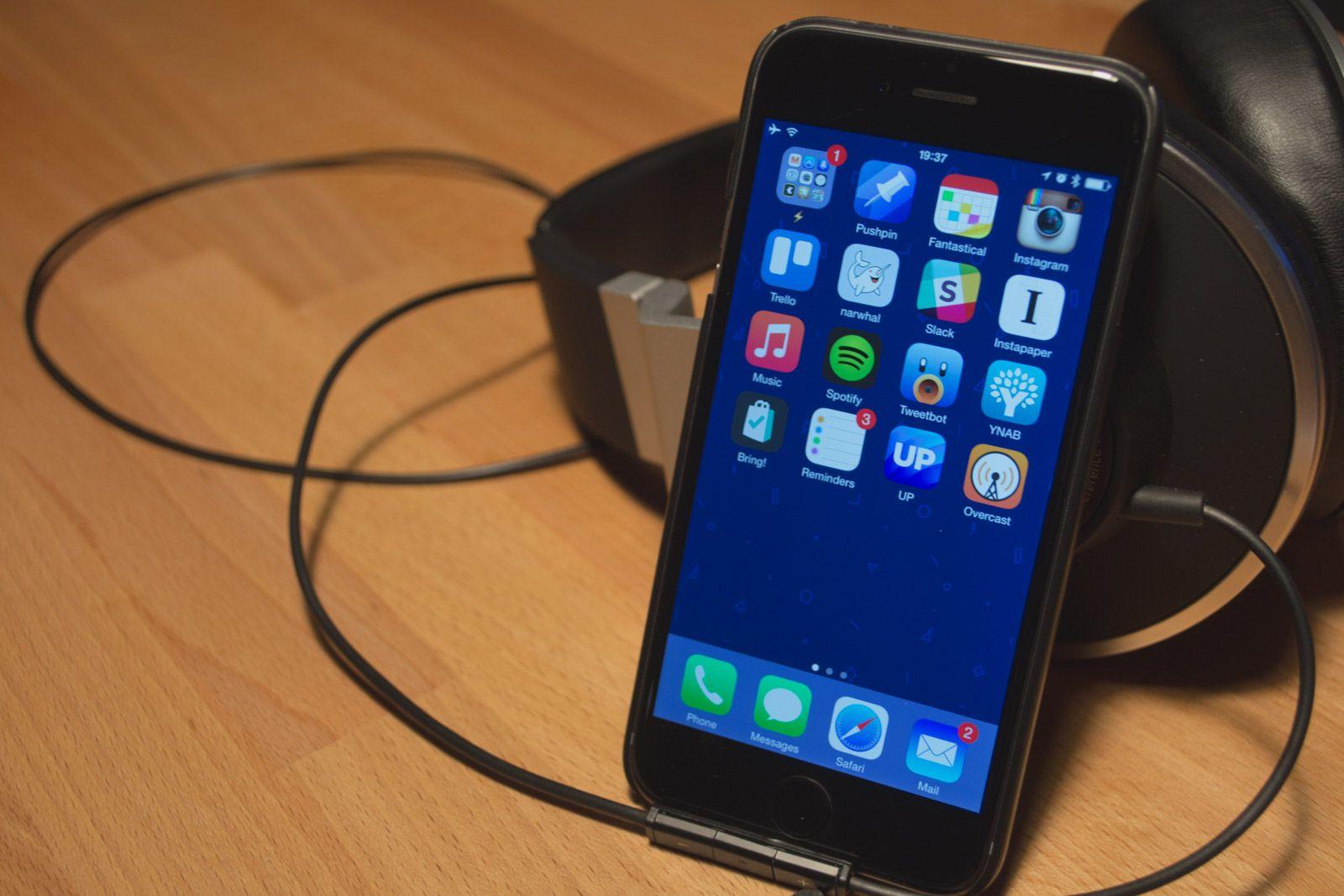 Photo of my iPhone Homescreen