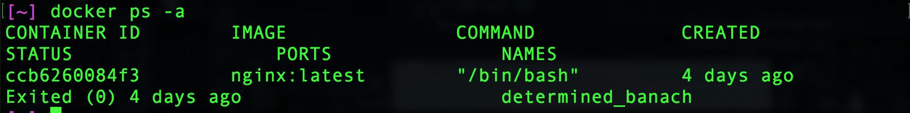 Docker Image List All