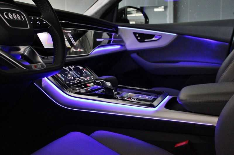 Audi Q8 50 TDI Quattro 3x S-Line 3.0 V6 286pk **HUD/Luchtvering/ACC/Elek.Trekhaak/B&O/Matrix.LED** afbeelding 3