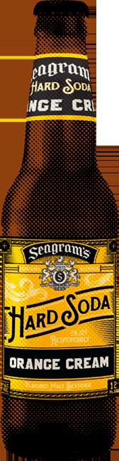 Seagram's Hard Soda Orange Cream