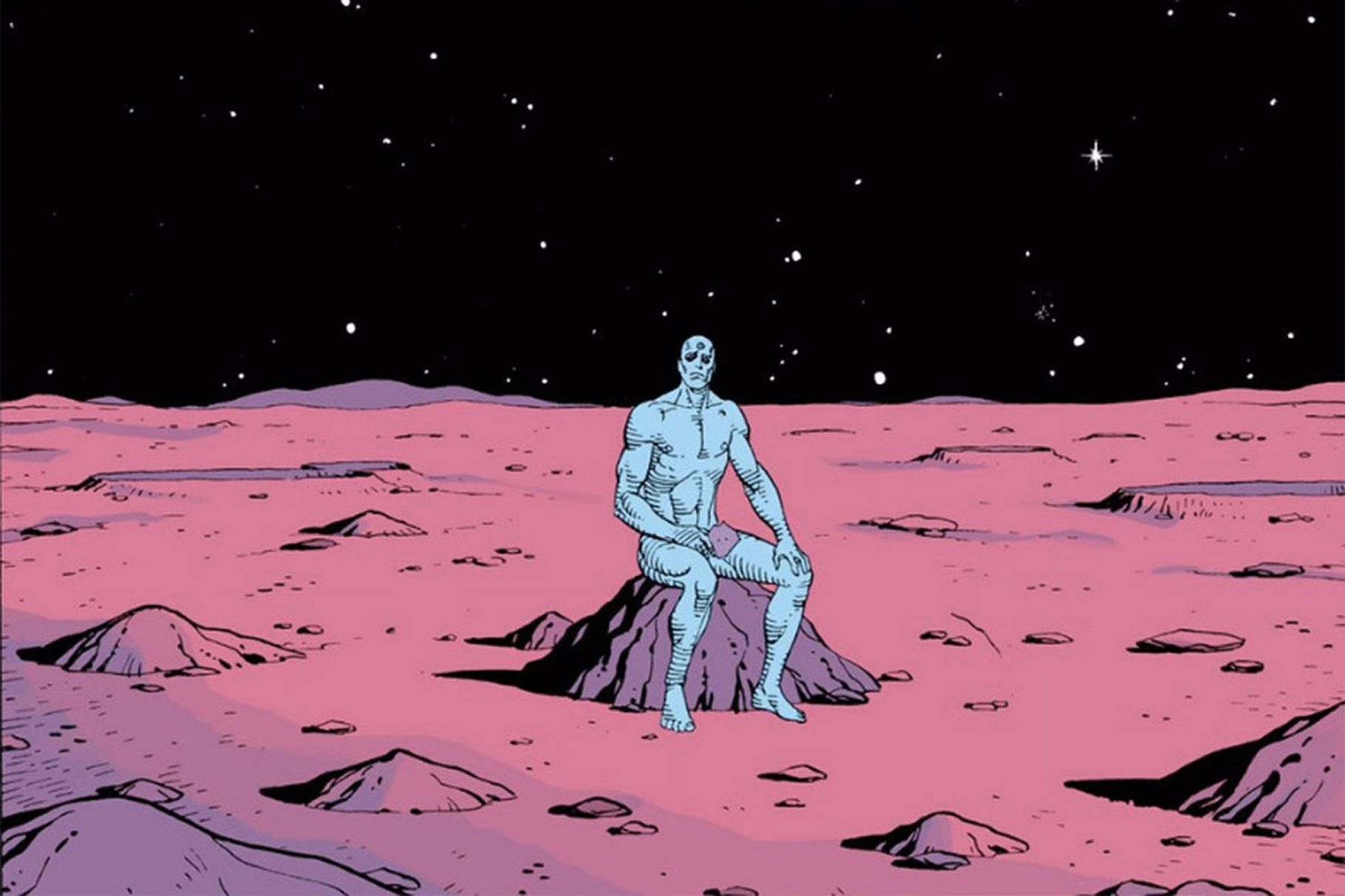 Watchmen está de volta (e o fim do mundo também)