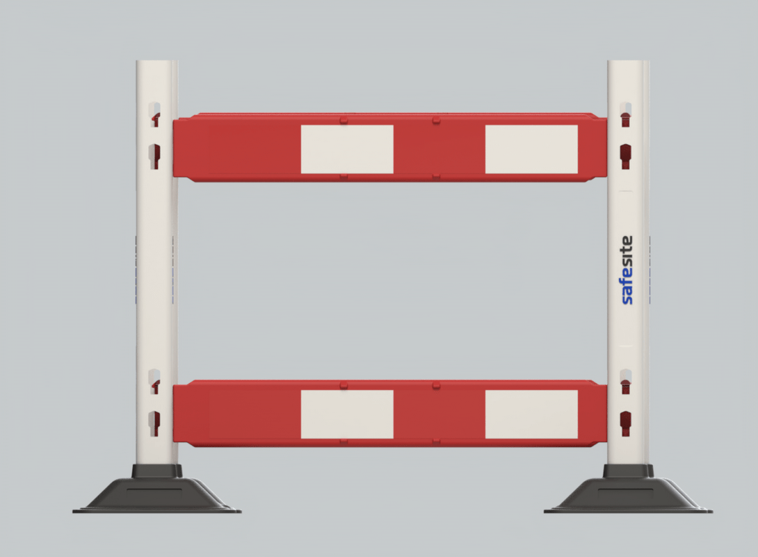 Watchman safety works barrier front