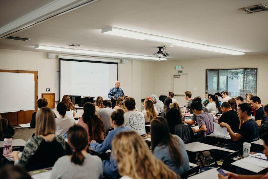 TMU classroom