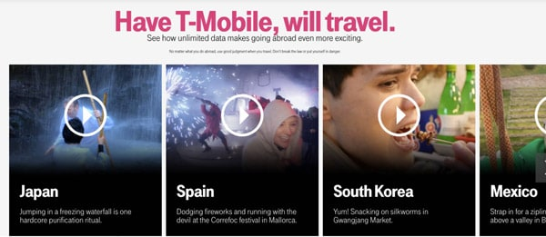 Have T-Mobile, will travel.