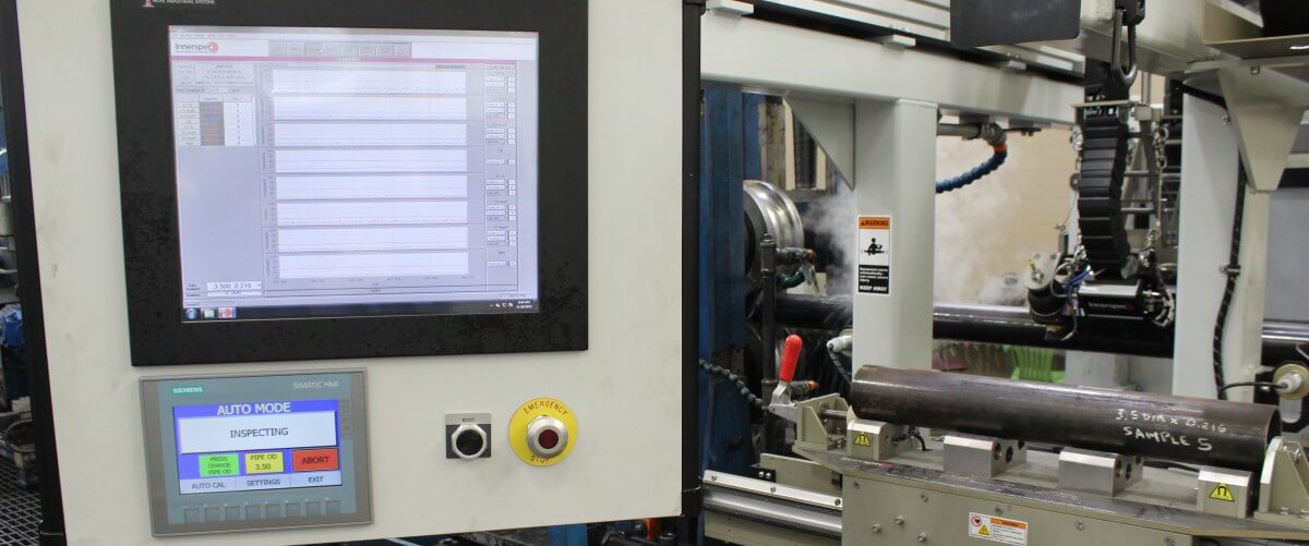 In-Line ERW Tube Inspection HMI