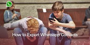 How to Export WhatsApp Contacts