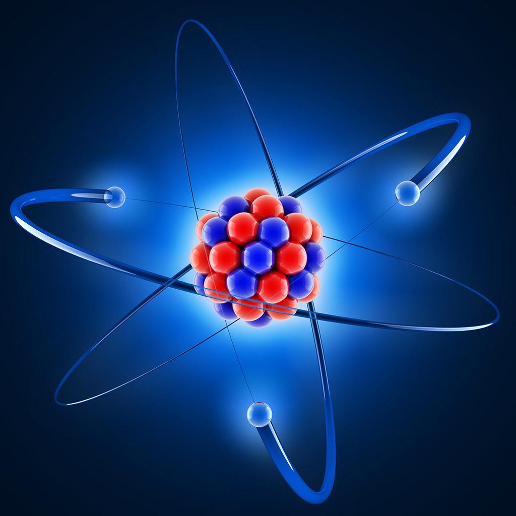 3d model of an atom