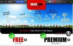 saleslion site