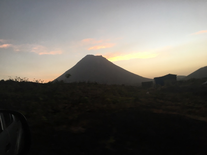 Sunrise at Pico do Fogo