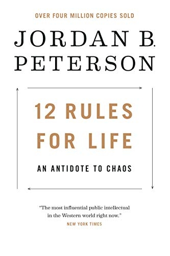 12 Rules for Life - An Antidote to Chaos Cover
