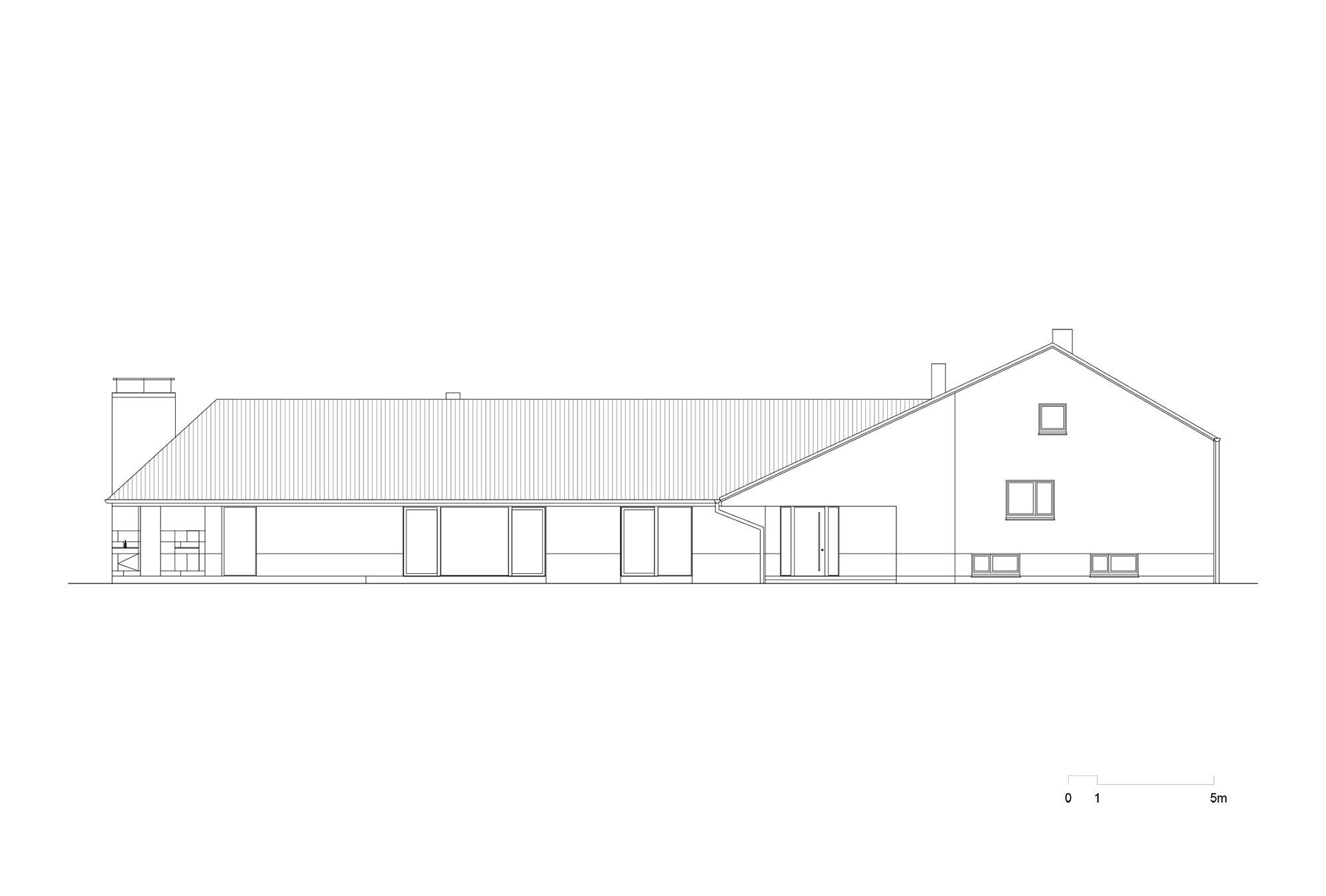 Projekt - Obiteljska kuća D