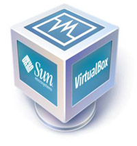The VirtualBox logo