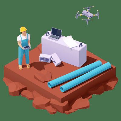 Drone et BTP