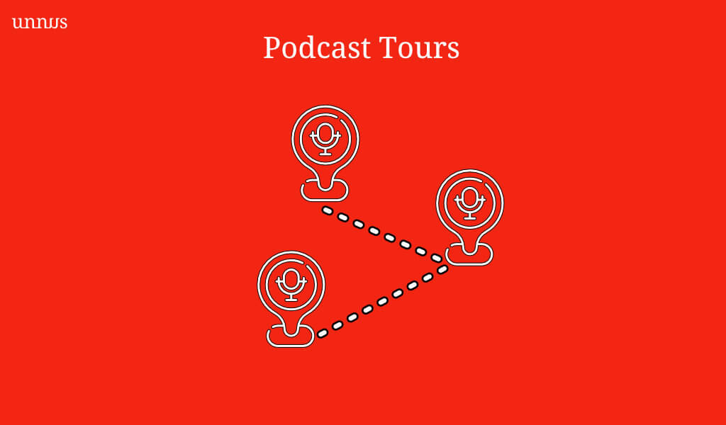 Podcast Strategy Tour Illustration