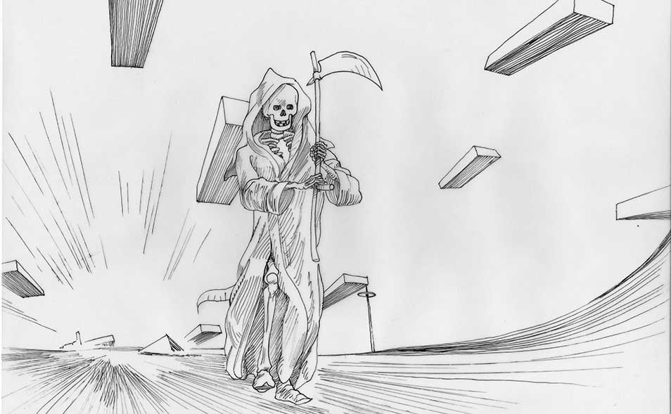 Atoleiros 1384 animatic - Death plague — animatic drawing 08