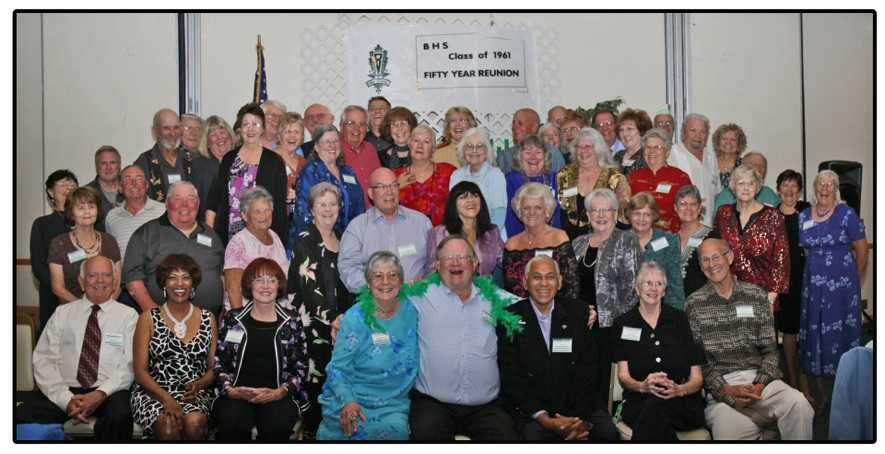 Class Photo at Banquet