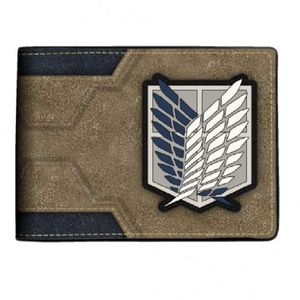 Attack on Titan Logo Bi-Fold Wallet