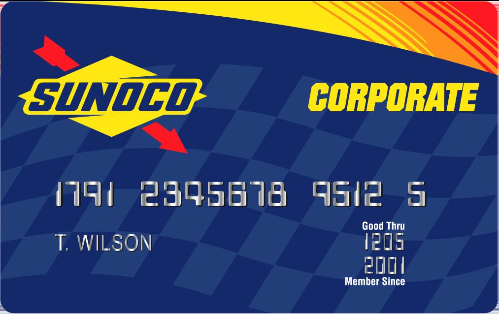 Sunoco card