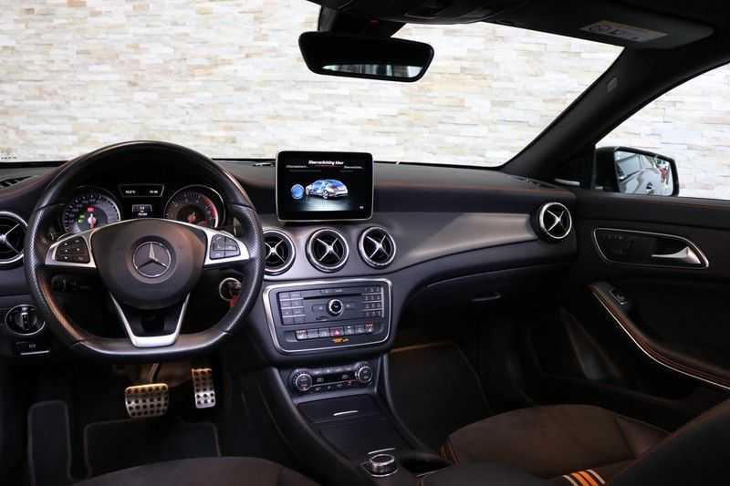Mercedes-Benz CLA-Klasse Shooting Brake 200 OrangeArt Edition | VERKOCHT! | | Panoramadak | Memory stoelen | AMG Pakket | Night Pakket | Achteruitrijcamera | afbeelding 25