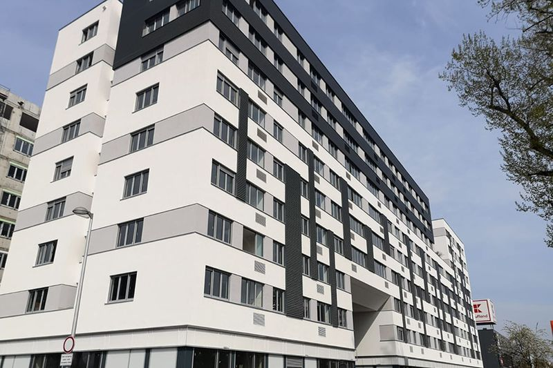Projekt - Wohn- und Bürogebäude - Središće