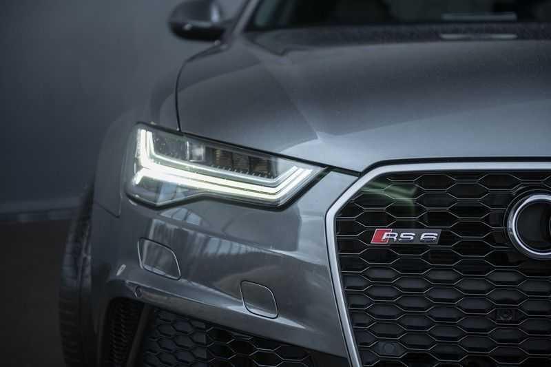 Audi RS6 Avant 4.0 TFSI quattro Pro Line Plus Vol leder + Stuurwielverwarming afbeelding 4