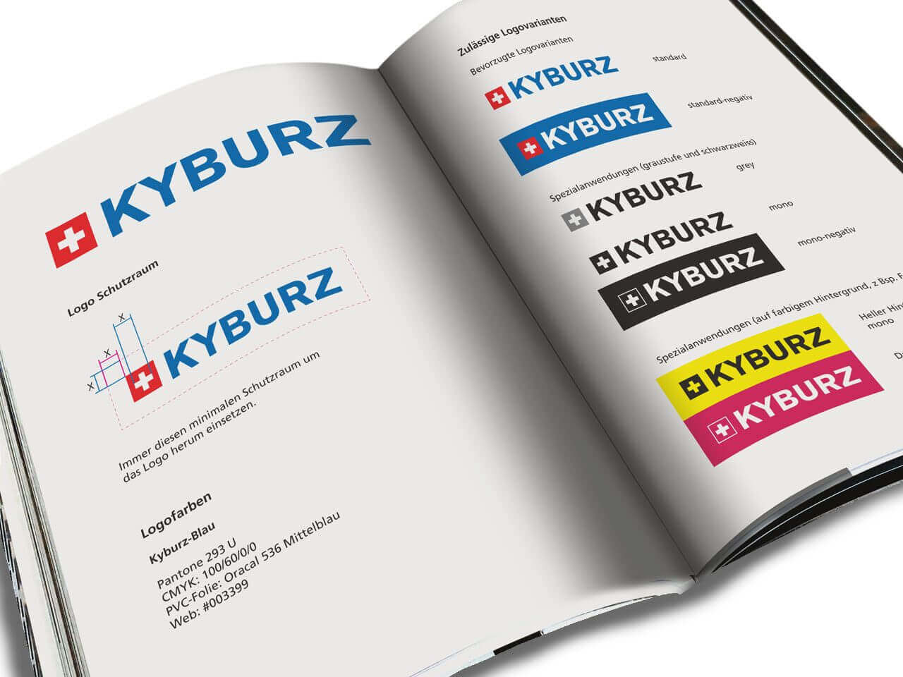 KYBURZ Corporate Design Manual