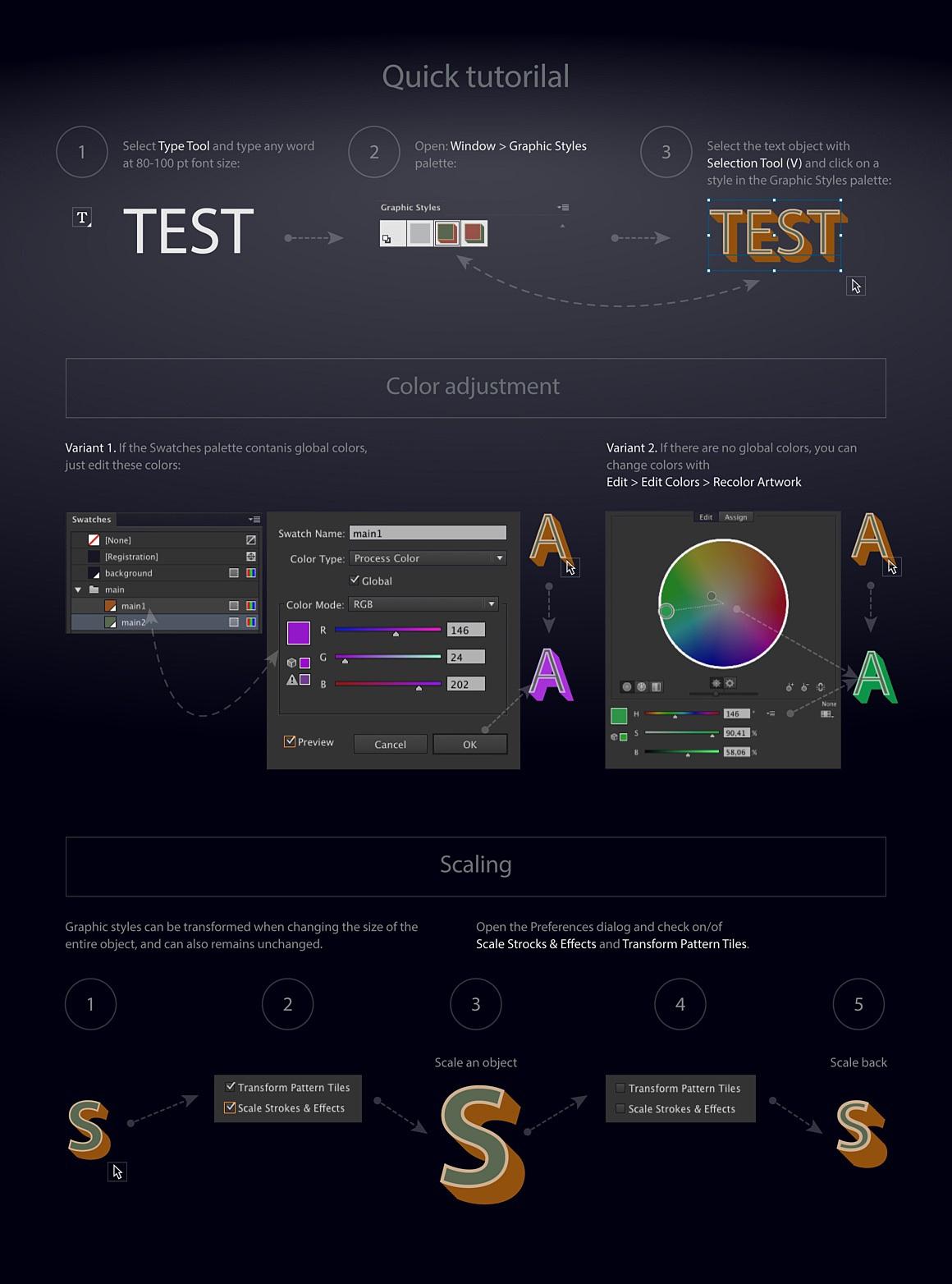 Chromesilver Illustrator styles chromesilver_5_tutorial.jpg