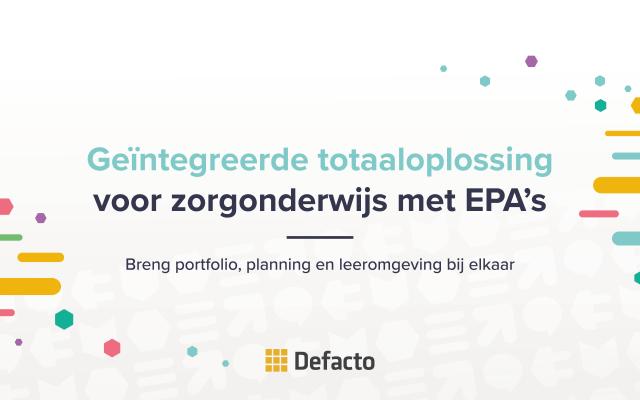 Webinar: Flexibel opleiden met CAPP EPA Portfolio