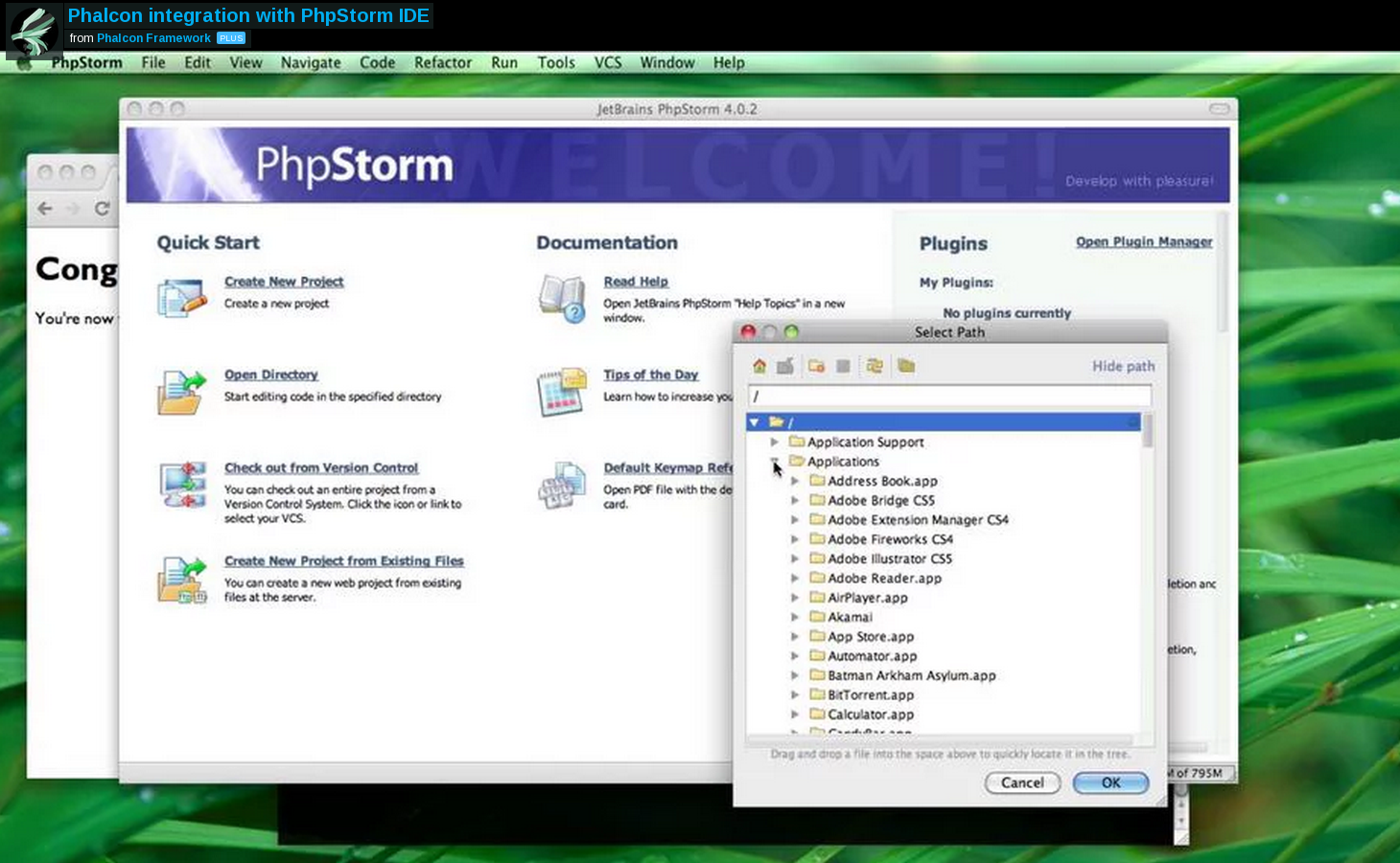 Phalcon PHPStorm Integration