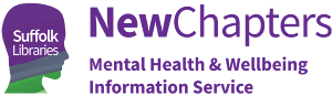 New Chapters mental health & wellbeing information service logo