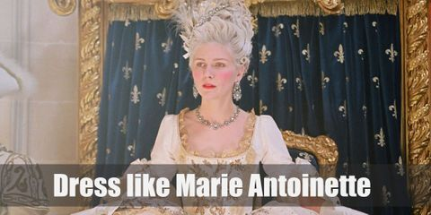 Marie Antoinette dressed in frills and flounces, and used plenty of feathers too.