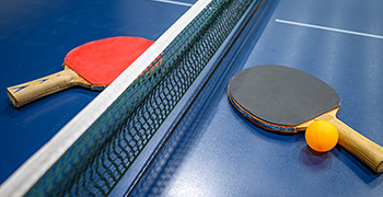 Table tennis at Potters Resort