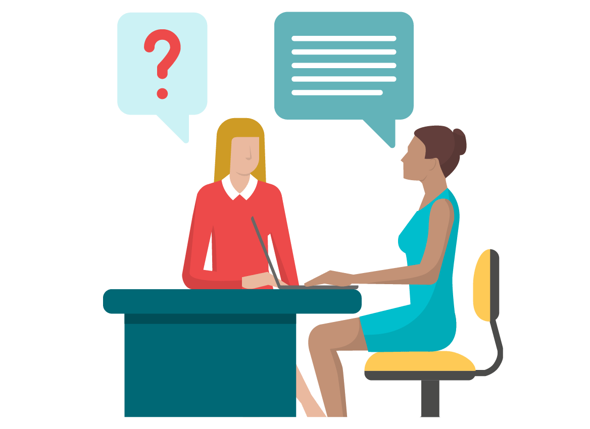 Exploratory, guided or semi-guided interviews to better understand users according to research objectives. They can be conducted by phone, video or in person.